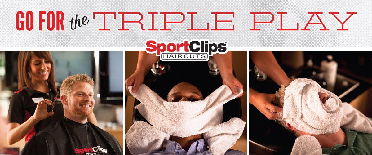 The Sport Clips Haircuts of Mt. Pleasant Triple Play